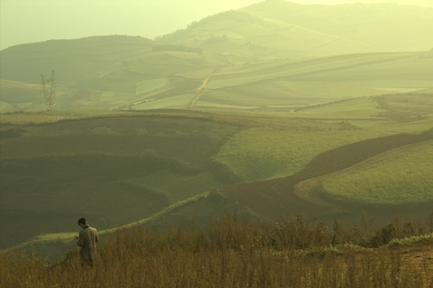 A Lovely Scenery in Dongchuan, Yunnan
